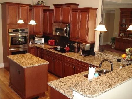 Granite Countertops And Kitchen Cabinets